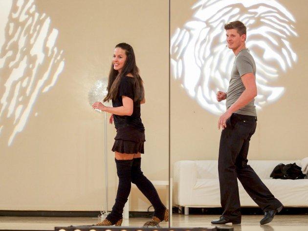 Roswitha Wieland - Thomas Morgenstern - Dancing Stars 2016 erste Proben - 4