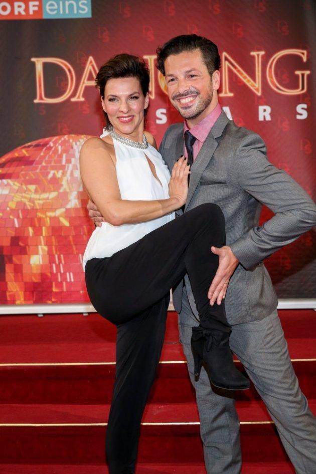 Sabine Petzl - Thomas Kraml als Tanzpaar bei den Dancing Stars 2016