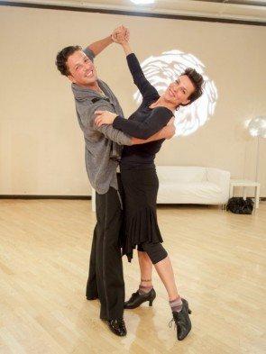Thomas Kraml - Sabine Petzl - Dancing Stars 2016 erste Proben - 1