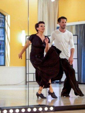Thomas Kraml - Sabine Petzl - Dancing Stars 2016 erste Proben - 2