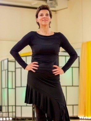 Sabine Petzl - Dancing Stars 2016 erste Proben - 3