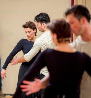 Thomas Kraml - Sabine Petzl - Dancing Stars 2016 erste Proben - 5