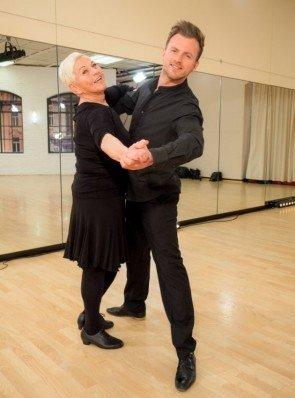 Willi Gabalier - Jazz Gitti - Dancing Stars 2016 erste Proben - 2