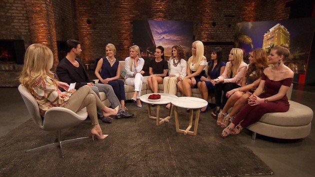 Bachelor am 23.3.2016 mit Leonie, Daniela, Denise, Sandra, Cindy, Jasmin, Saskia, Leonie Rosella und Anni