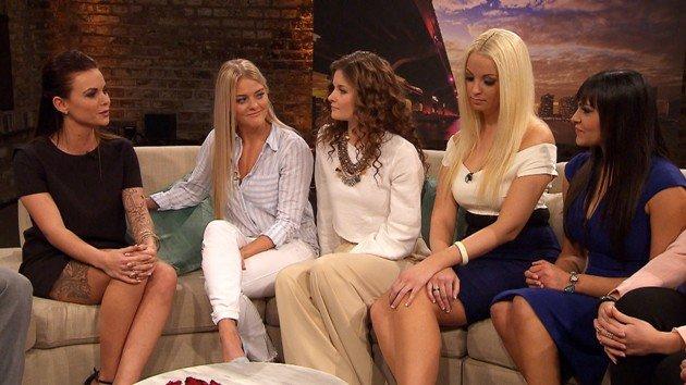 Bachelor am 23.3.2016 mit den Kandidatinnen - Denise, Daniela, Sandra, Cindy und Jasmin