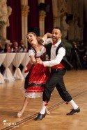 Danilo Campisi - Julia Burghardt aus Österreich - 4. Platz WM Kür Standard 2016 WDSF PD