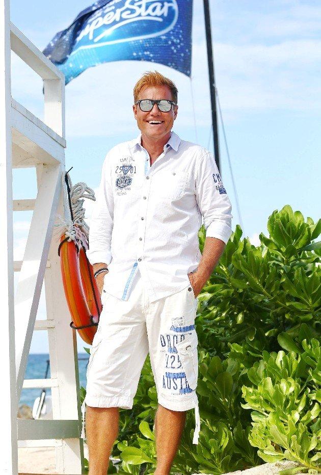 Dieter Bohlen bei DSDS 2016 am Strand von Jamaika