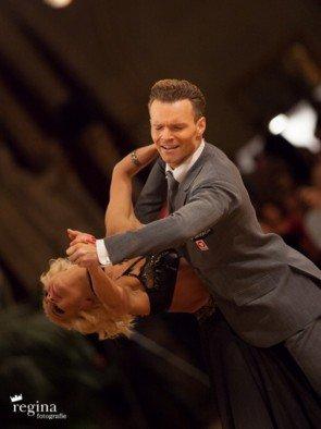 EM 2016 Showdance Standard WDSF-PD - Platz 1 für Vadim Garbuzov - Kathrin Menzinger aus Österreich