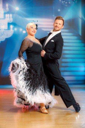 Jazz Gitti - Willi Gabalier bei den Dancing Stars 2016 am 26.3.2016