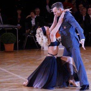 """Let's dance Profi-Tänzer Vadim Garbuzov - Kathrin Menzinger bei ihrer Kür """"50 Shades of Grey"""""""