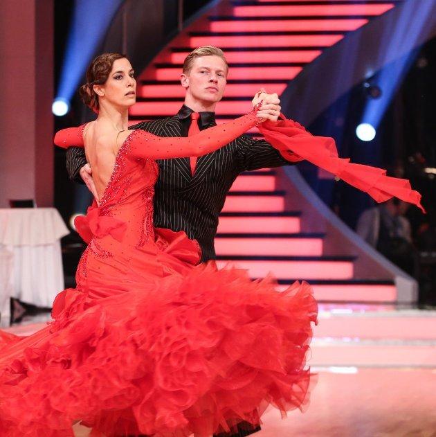 Nina Hartmann - Paul Lorenz bei den Dancing Stars 2016 am 26.3.2016