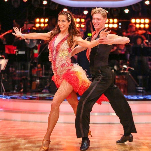 Paul Lorenz - Nina Hartmann bei den Dancing Stars am 18.3.2016