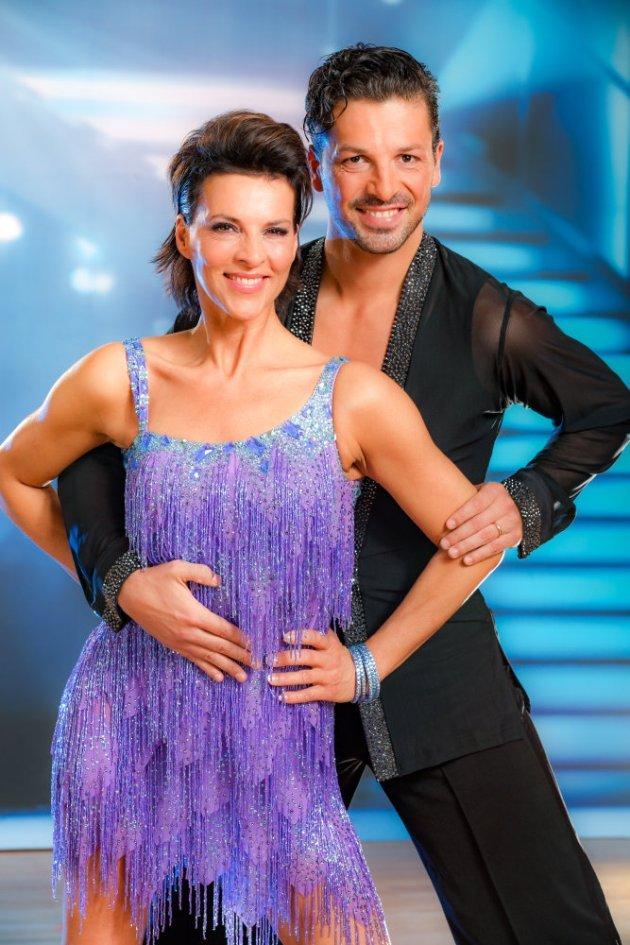 Sabine Petzl - Thomas Kraml - Dancing Stars 2016 am 18.3.2016