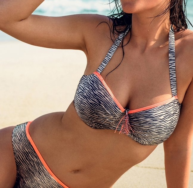 Strandmode 2016 Bikini Wild Side von PrimaDonna Swim Zebra-Print