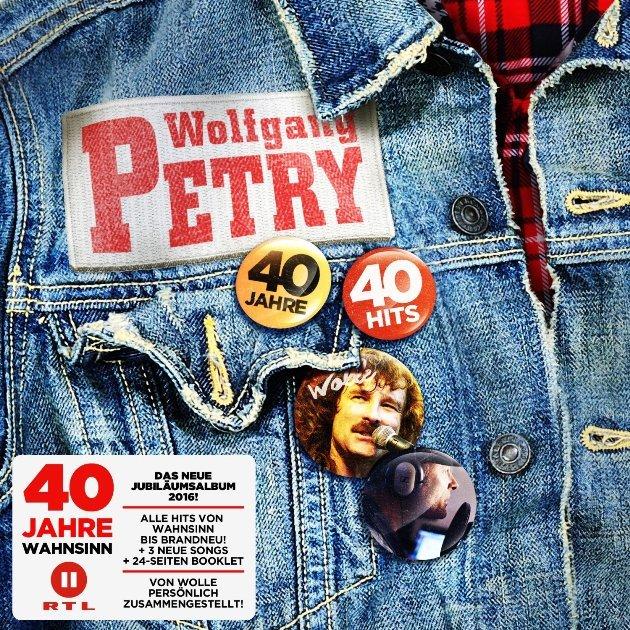 Wolfgang Petry neue CD 40 Jahre - 40 Hits