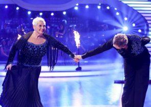 Dancing Stars 2016 am 22.4.2016 Gitti raus! Habe die Ehre!