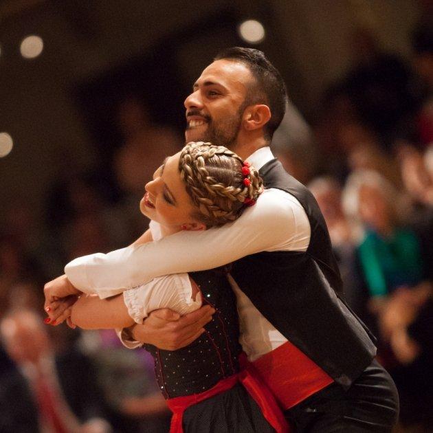 Danilo Campisi und Julia Burghardt in Wien