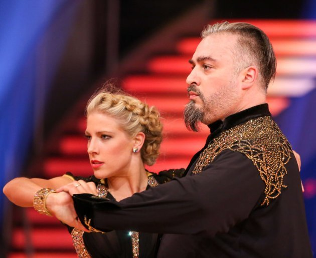 Georgij Makazaria - Maria Santner beim Paso Doble Dancing Stars 2016 am 22.4.2016
