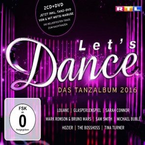 Let's dance CD 2016 mit Tanzkurs-DVD von Motsi Mabuse