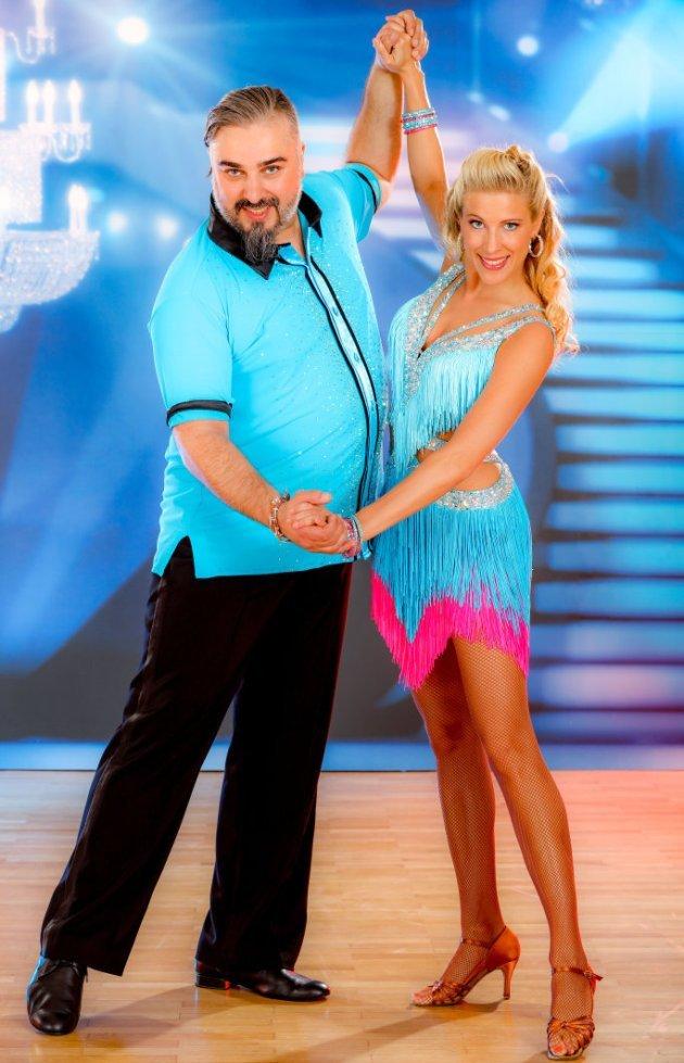 Maria Santner - Georgij Makazaria bei den Dancing Stars 2016 im Finale