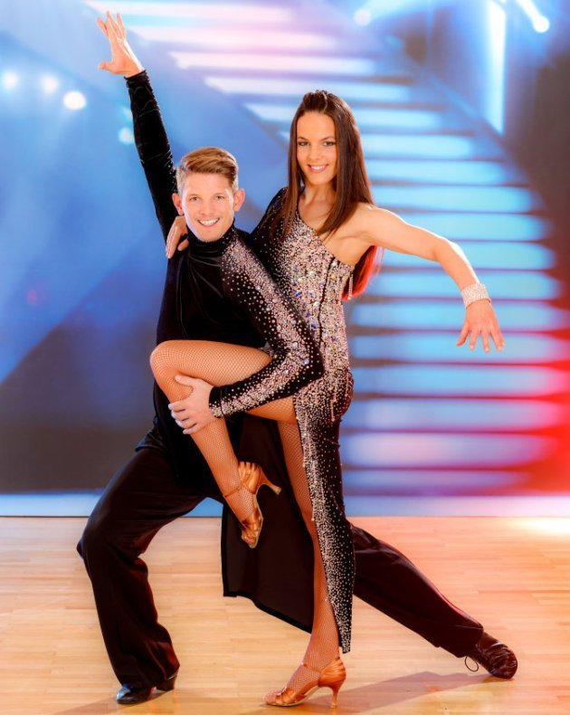 Roswitha Wieland - Thomas Morgenstern bei den Dancing Stars 2016 im Finale