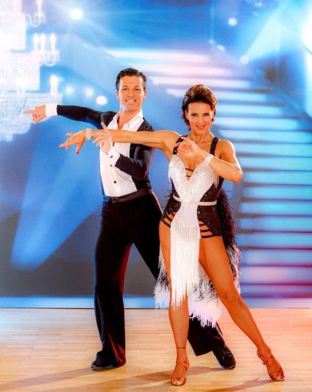 Sabine Petzl - Thomas Kraml Dancing Stars 2016 am 29.4.2016 ausgeschieden