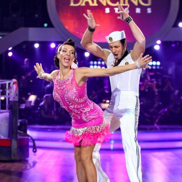 Sabine Petzl - Thomas Kraml bei den Dancing Stars 2016 am 15.4.2016