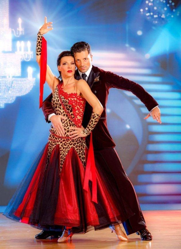 Sabine Petzl - Thomas Kraml bei den Dancing Stars 2016 am 8.4.2016