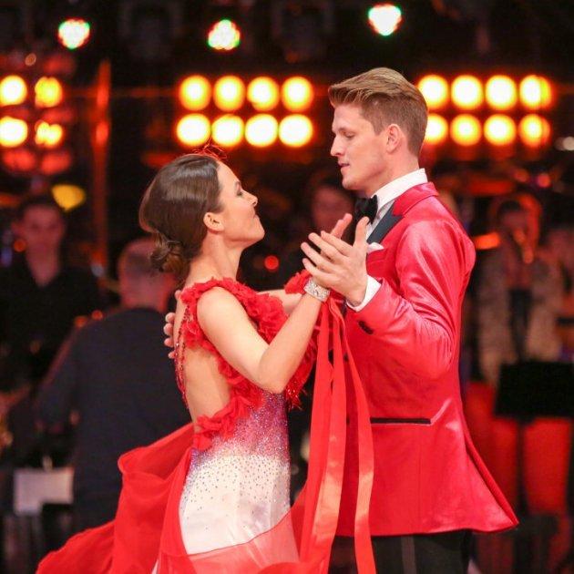 Thomas Morgenstern - Rosi Wieland bei den Dancing Stars am 1.4.2016