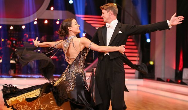 Thomas Morgenstern - Roswitha Wieland Dancing Stars 22.4.2016