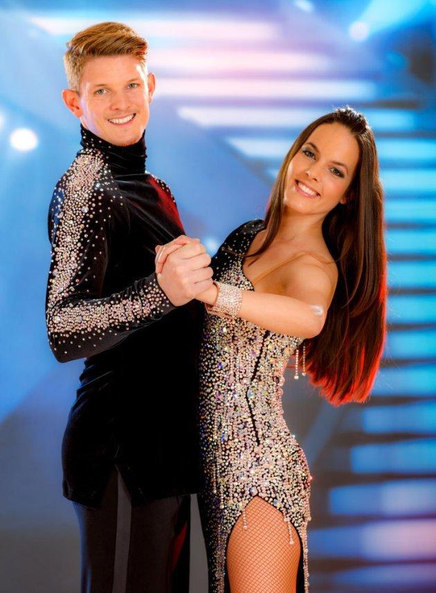 Thomas Morgenstern - Roswitha Wieland - Halbfinale Dancing Stars 2016 am 29.4.2016