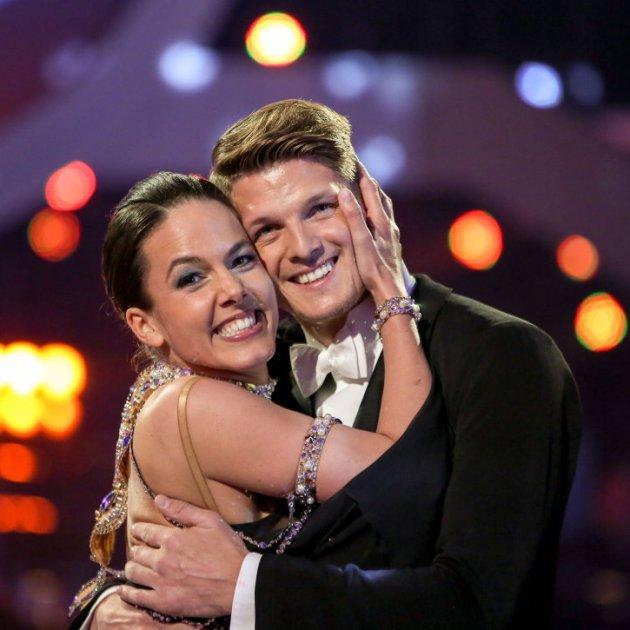 Thomas Morgenstern - Roswitha Wieland bei den Dancing Stars 2016 am 22.4.2016