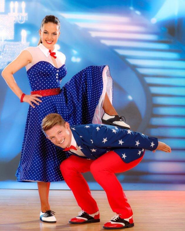 Thomas Morgenstern - Roswitha Wieland bei den Dancing Stars 2016 am 29.4.2016
