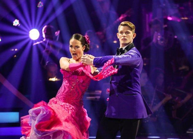 Thomas Morgenstern - Roswitha Wieland beim Tango Dancing Stars 15.4.2016