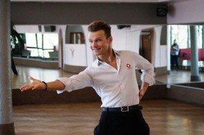Vadim Garbuzov bei Let's dance 2016 Training