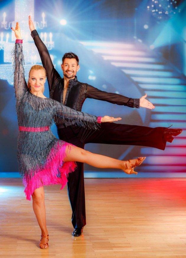 Verena Scheitz - Florian Gschaider bei den Dancing Stars 2016 am 8.4.2016