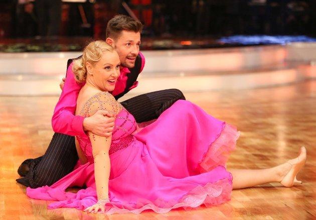 Verena Scheitz - Florian Gschaider bei den Dancing Stars am 1.4.2016 höchste Jury-Wertung