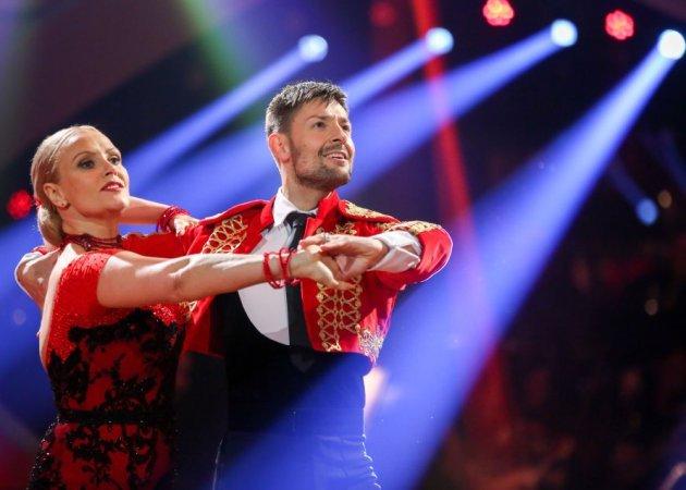 Verena Scheitz - Florian Gschaider beim Paso doble Dancing Stars 2016 am 22.4.2016