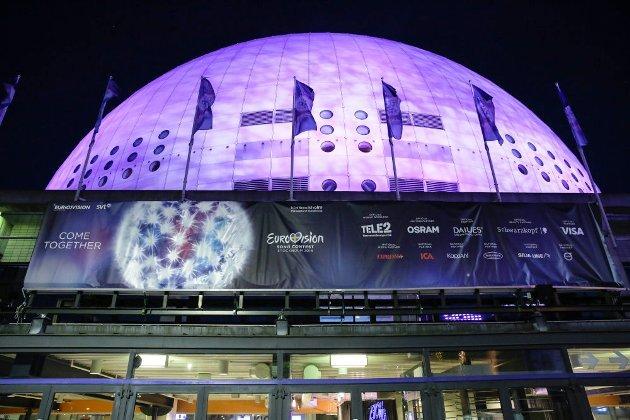 ESC 2016 Stockholm Globe Arena
