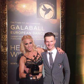 Kathrin Menzinger - Vadim Garbuzov gewinnen Golden Colibri