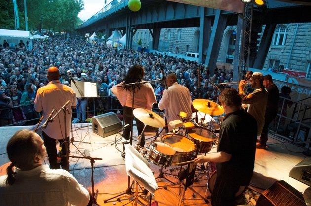 KdK 2016 Strassenfest Latinauta Bühne