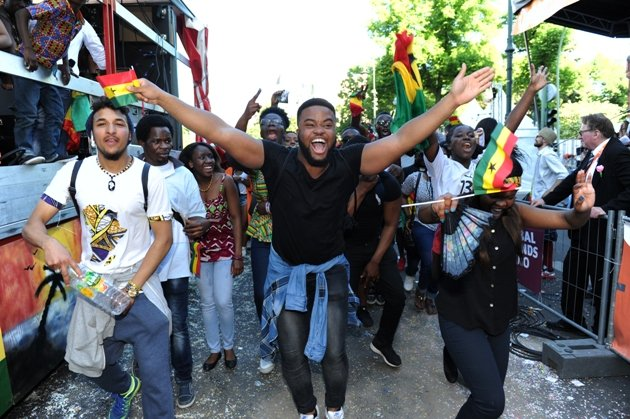 KdK Pfingsten 2016 - hier Umzugsgruppe One Ghana Carnival - Foto: © Jurino Reetz