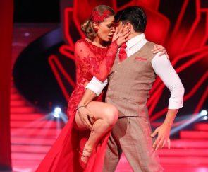 Let's dance am 20.5.2016 Songs und 3 Tänze pro Paar - - hier Victoria Swarovski - Erich Klann