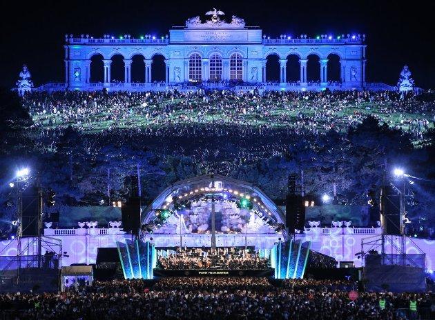 Sommernachtskonzert 2016 der Wiener Philharmoniker Wien 26.5.2016