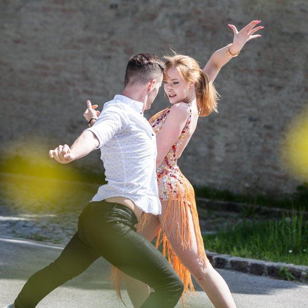 Salsa-EM 2016 Erfolg für Florian Vana - Helene Buchner aus Österreich