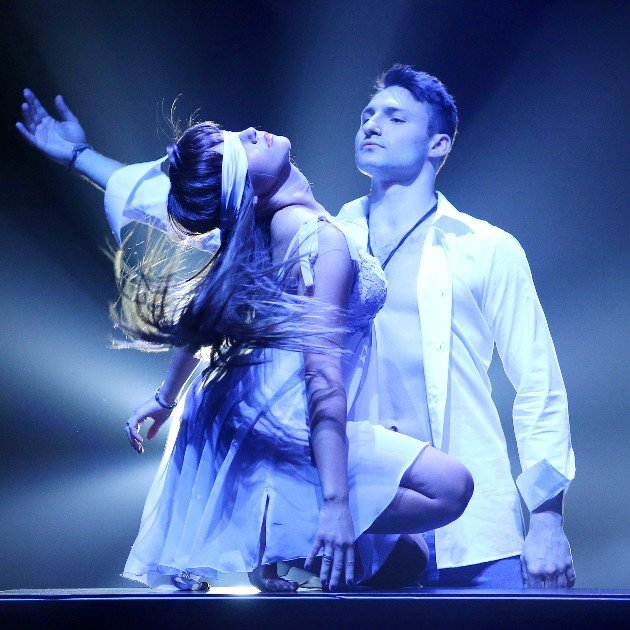 Sarah Lombardi - Robert Beitsch sind im Finale Let's dance 2016