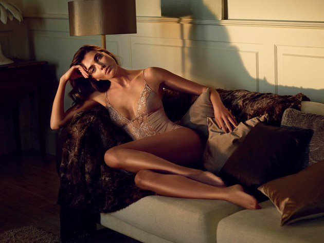 Body von Andres Sarda Modell Ginger, Farbe Make up, Herbst 2016 - Winter 2017
