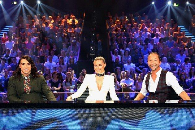 Cale Kalay, Sophia Thomalla und DJ Bobo - sympathische Dance Dance Dance - Jury