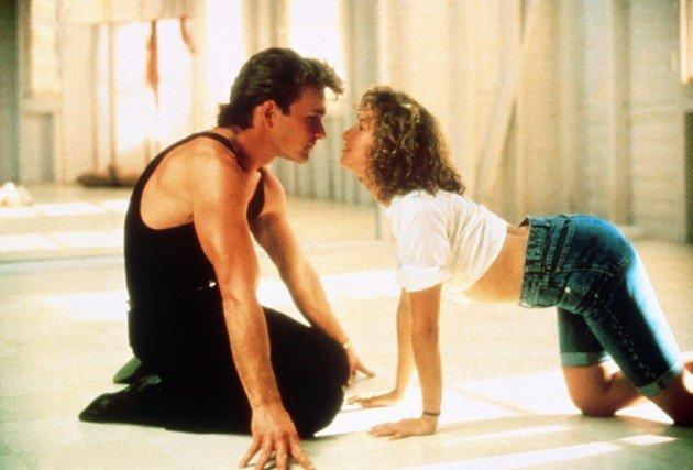 Dirty Dancing - Film-Szene mit Patrick Swayze und Jennifer Grey