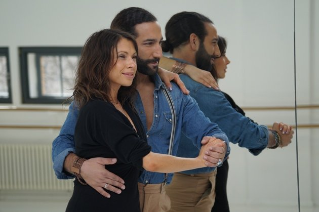 Massimo Sinato - hier beim Traning für Let's dance mit Jana Pallaske